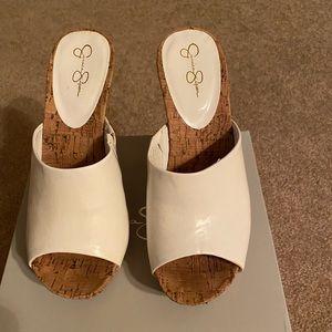 Brand new, never worn Jessica Simpson sandal/wedge